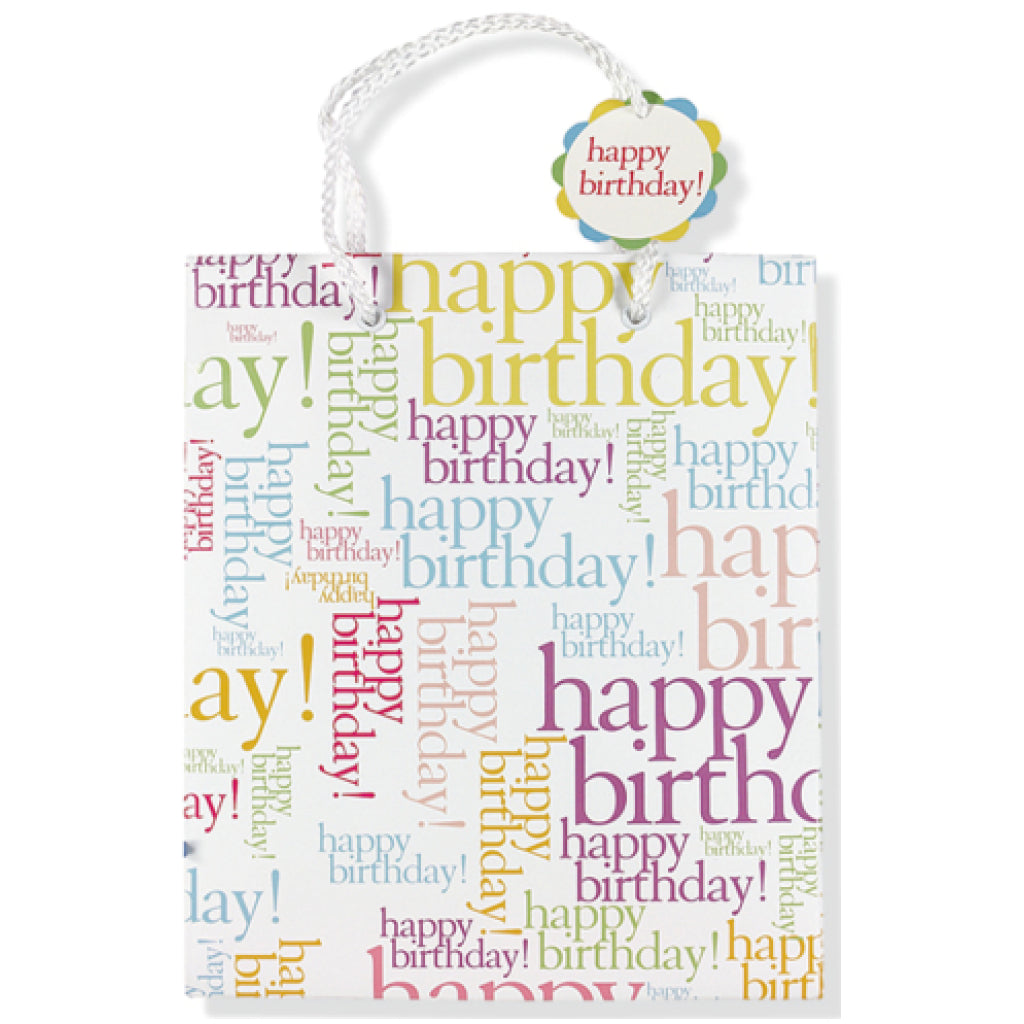 Deluxe Gift Bag: Happy Birthday