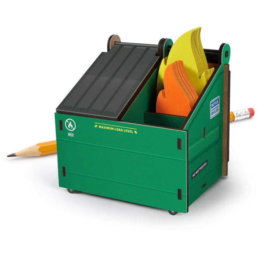 Desk Dumpster Pencil Holder