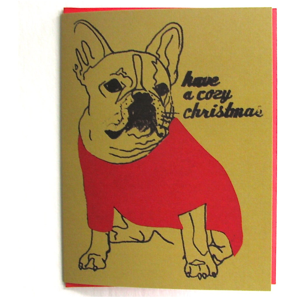 Dog Sweater Card