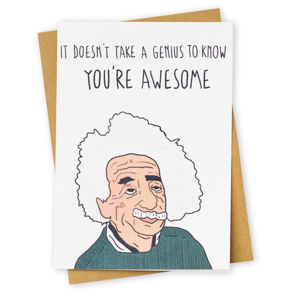 Einstein Genius Card