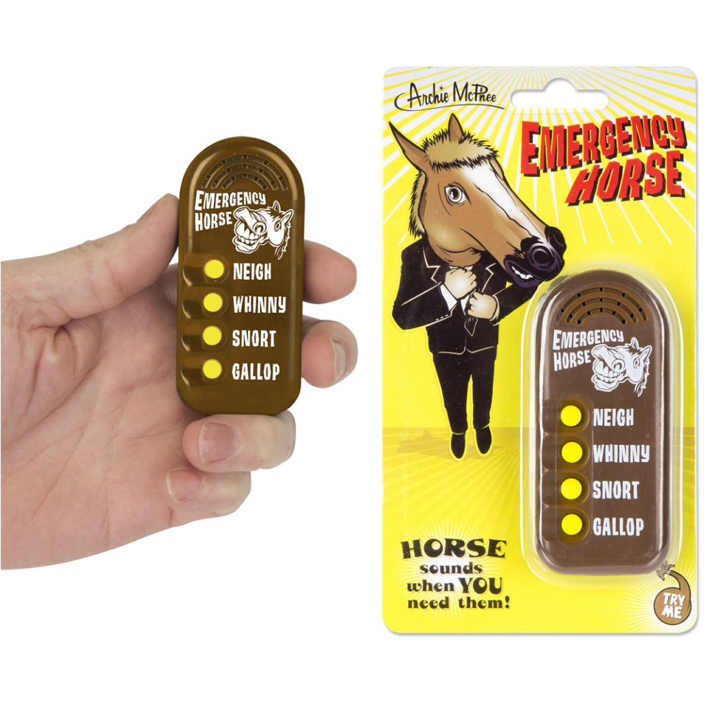 Emergency Horse Button