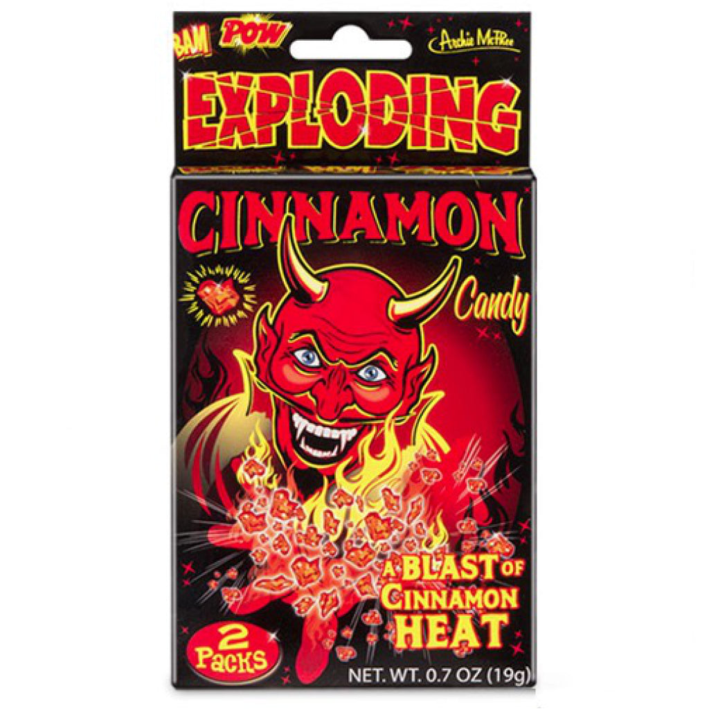Exploding Cinnamon Candy