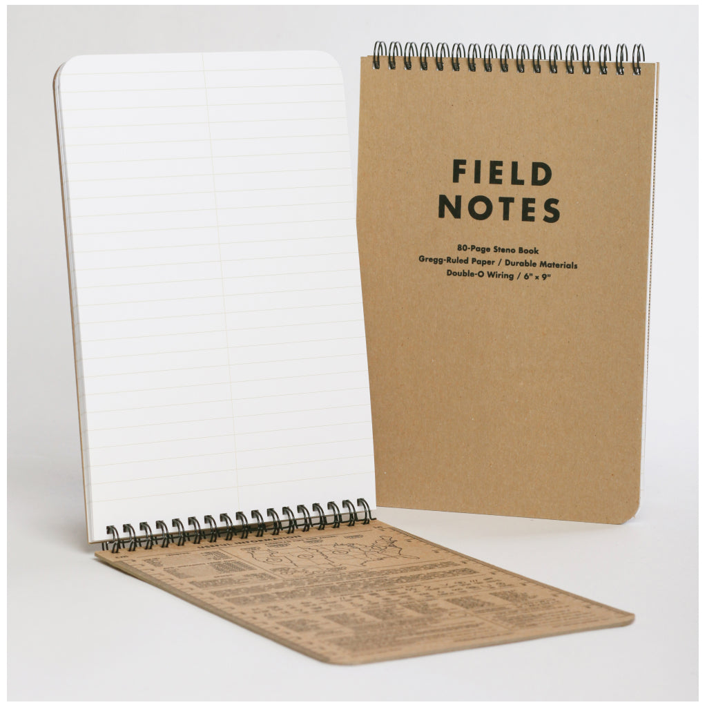 Field Notes 80 Page Steno Book