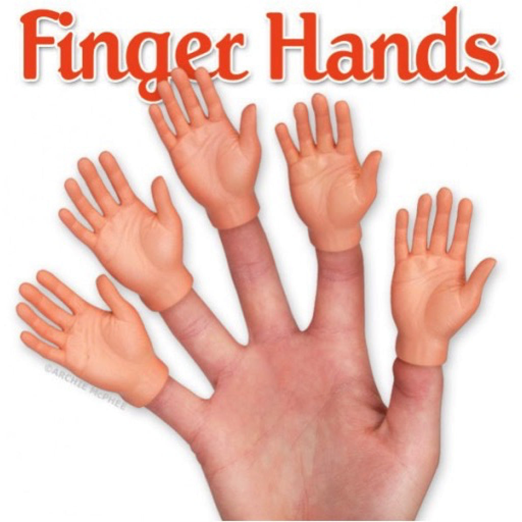 Finger Hands- Set of 5