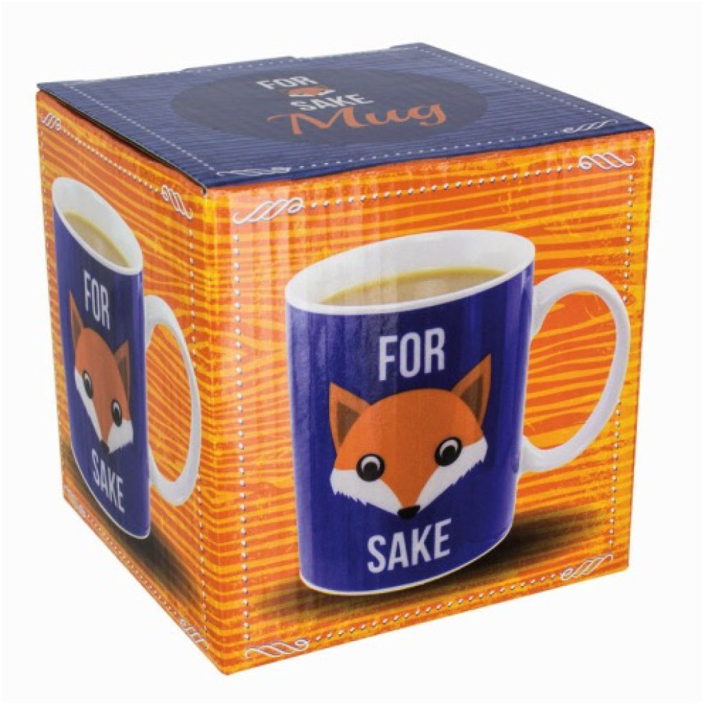 For Fox Sake Mug box