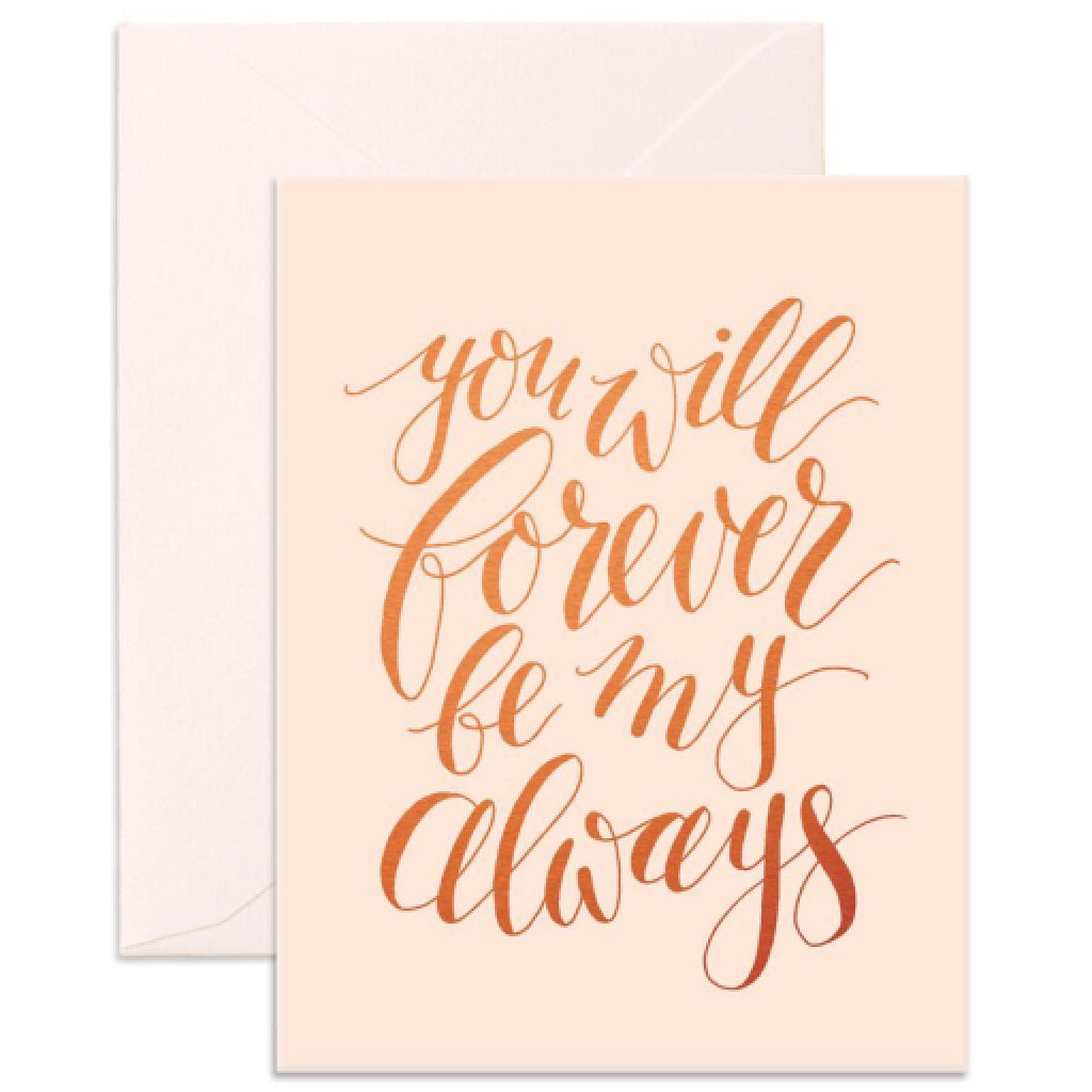 Forever Always Card