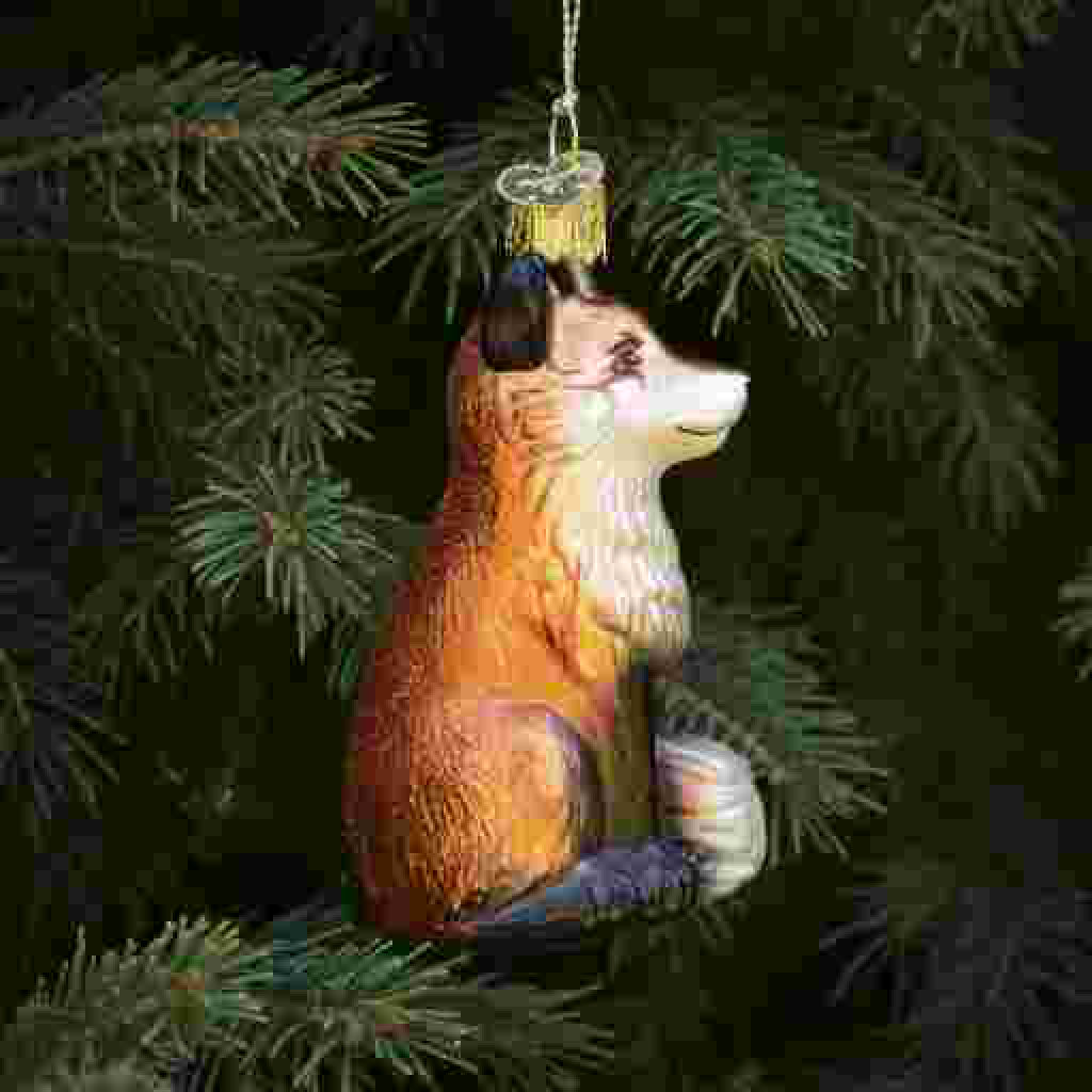Fox Ornament side