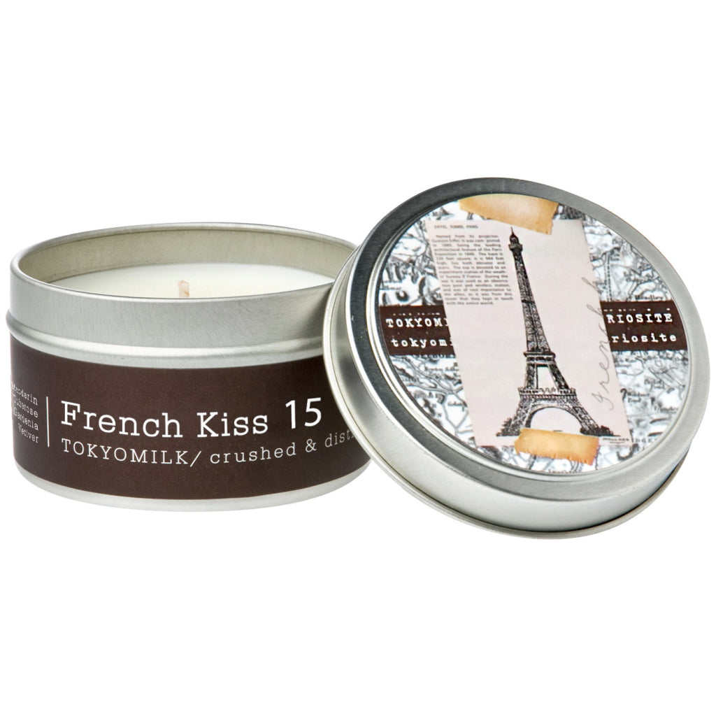 French Kiss Tin Candle No.15