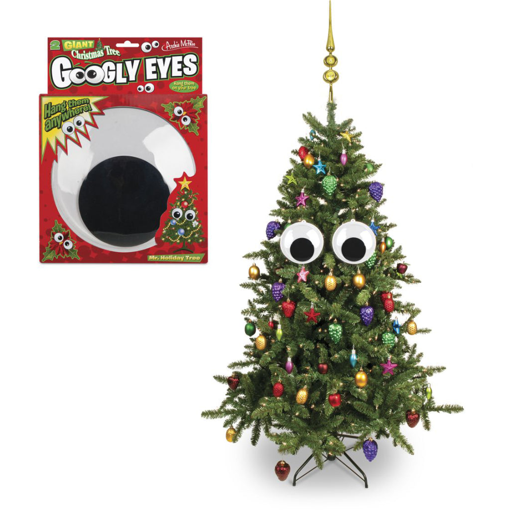 Giant Googly Eyes for Christmas Tree