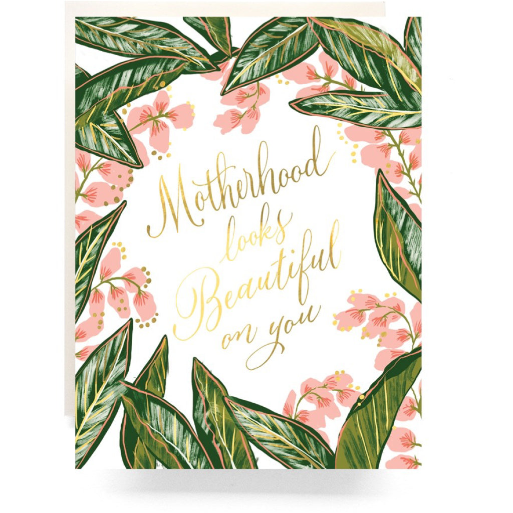 Ginger Blossom Motherhood Card