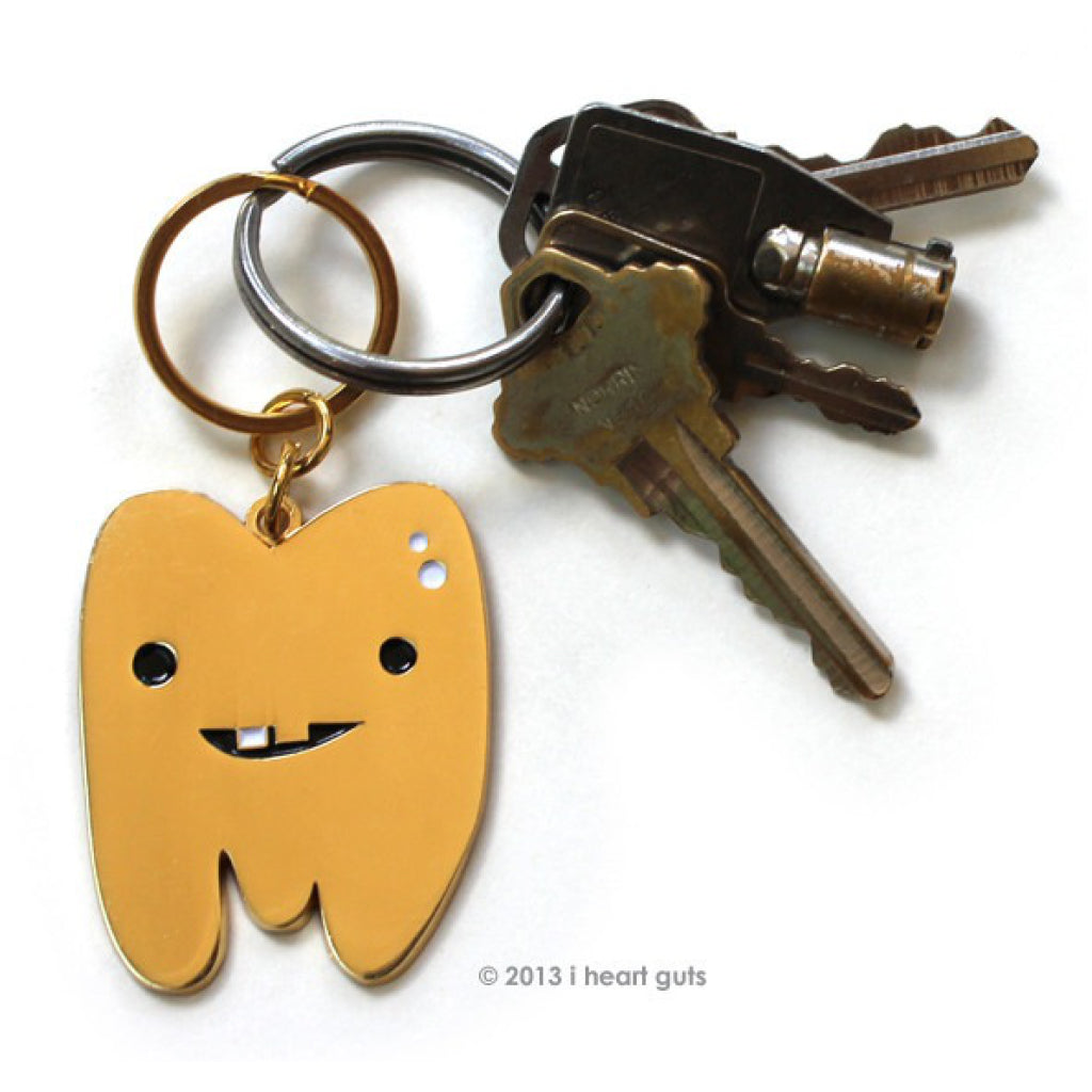 Gold Tooth Keychain lifestyle