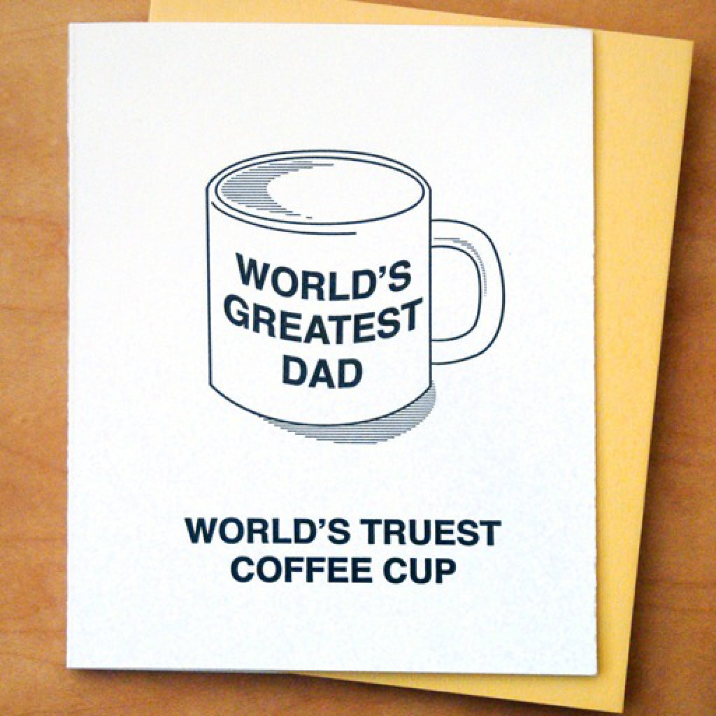 Great Dad Mug Card
