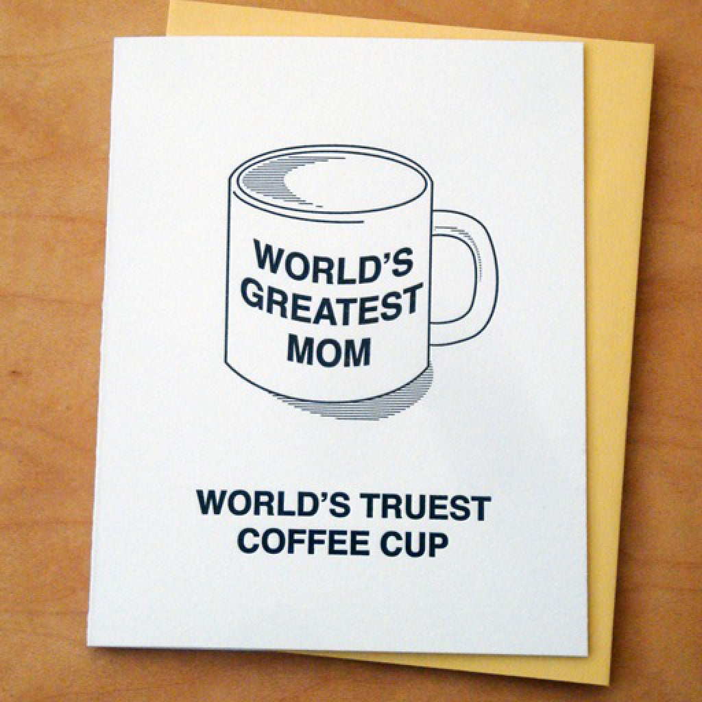 Great Mom Mug Card