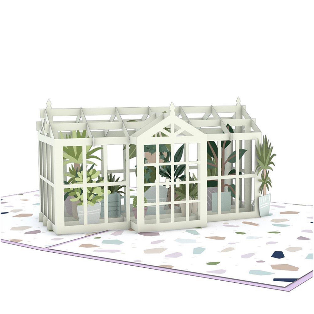 Greenhouse Garden 3D Pop Up Card
