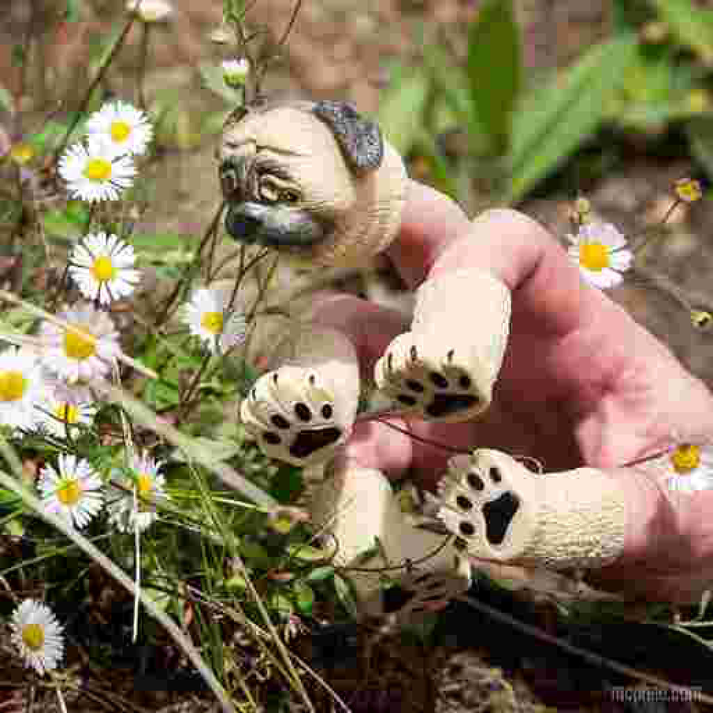 Handipug Finger Puppets lifestyle 3