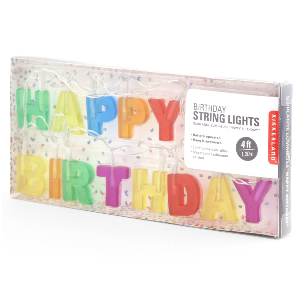 Happy Birthday Lights package