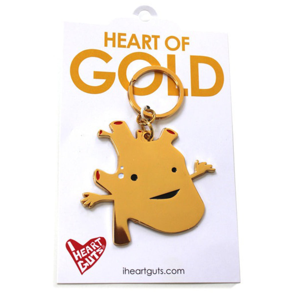 Heart of Gold Key Chain package