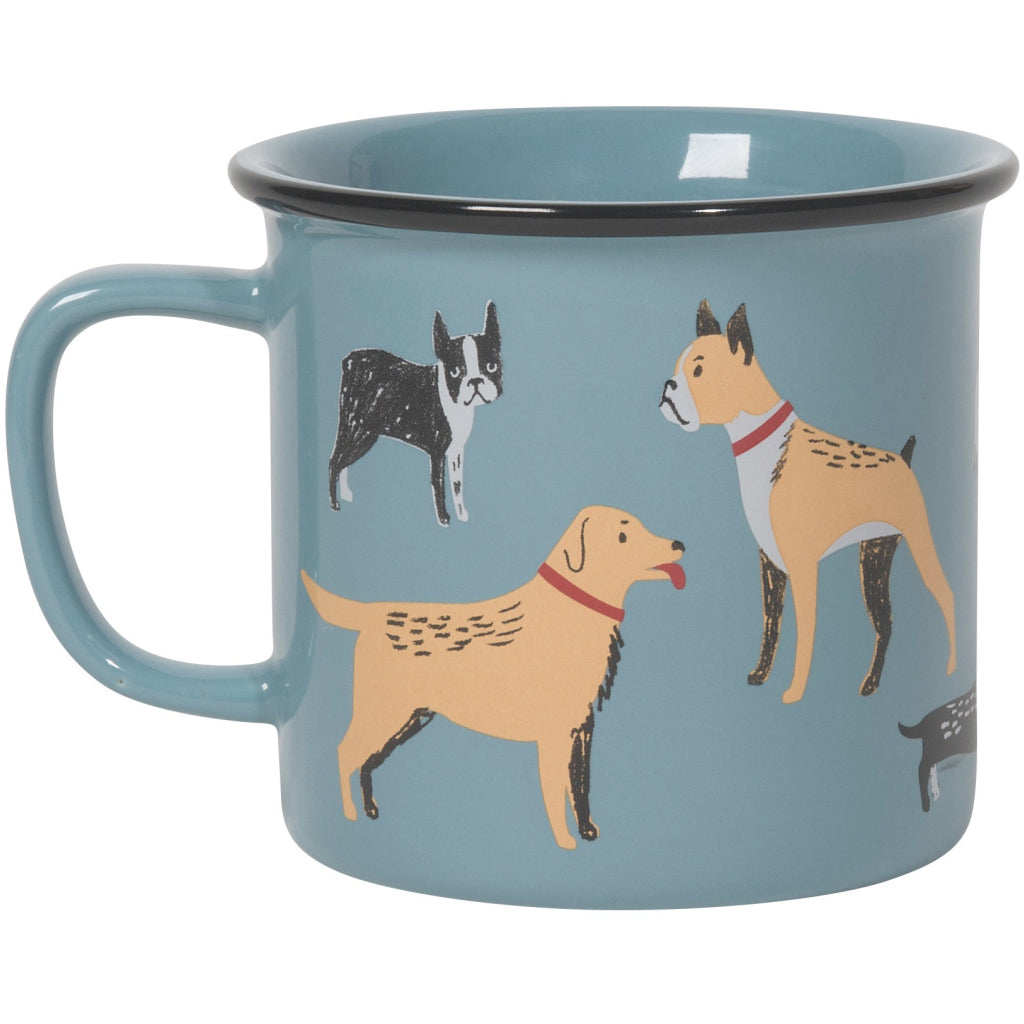 Heritage Dog Days Mug back