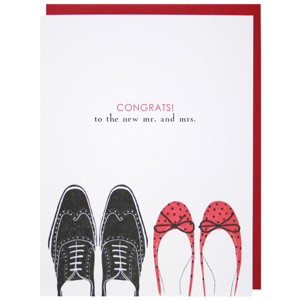 His And Her Shoes Card