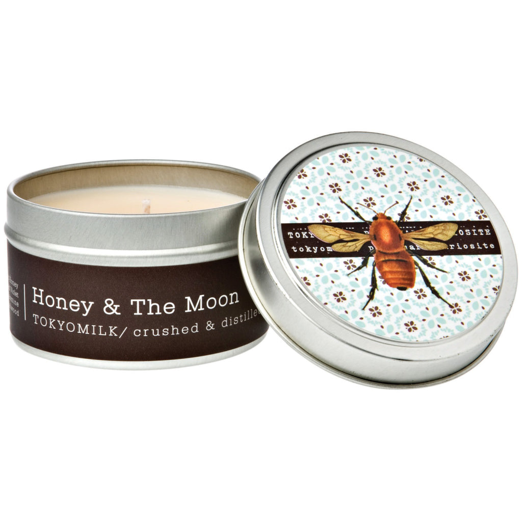 Honey & The Moon Tin Candle No.10