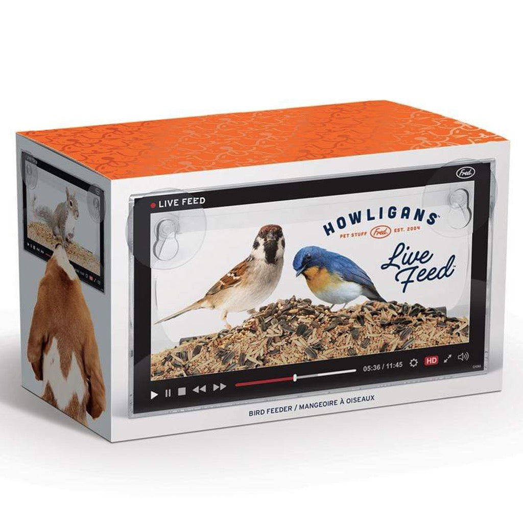 Howligans Live Feed Bird Feeder