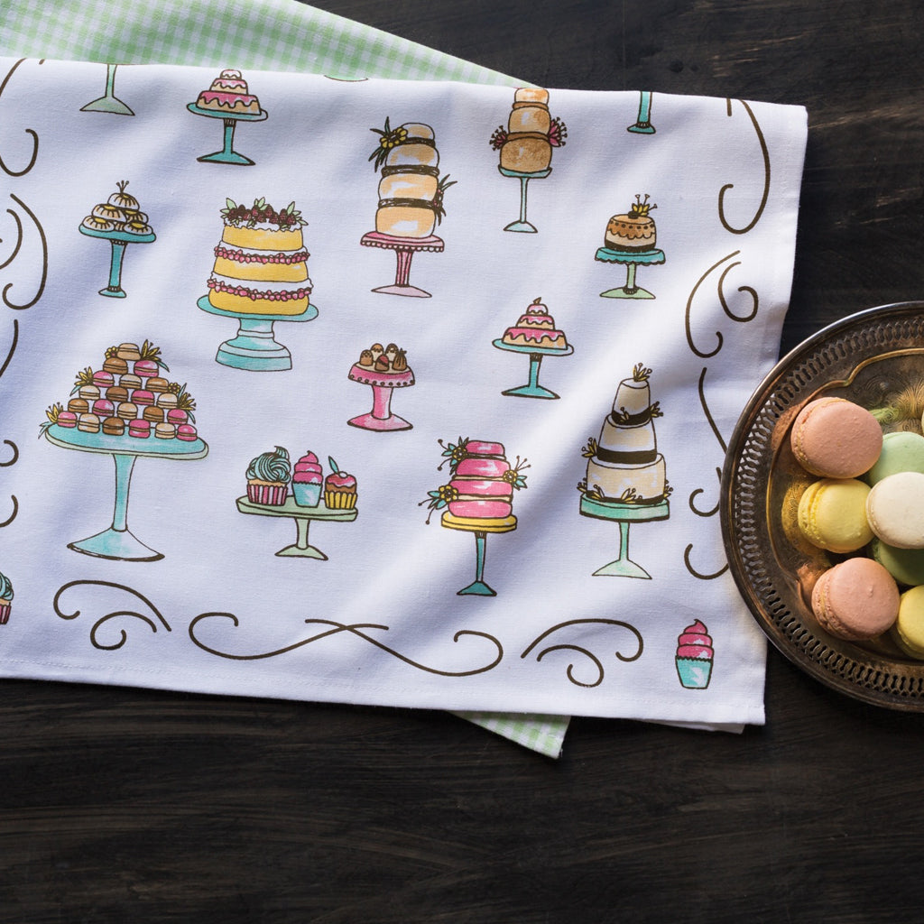Just Desserts Tea Towels Set of 2