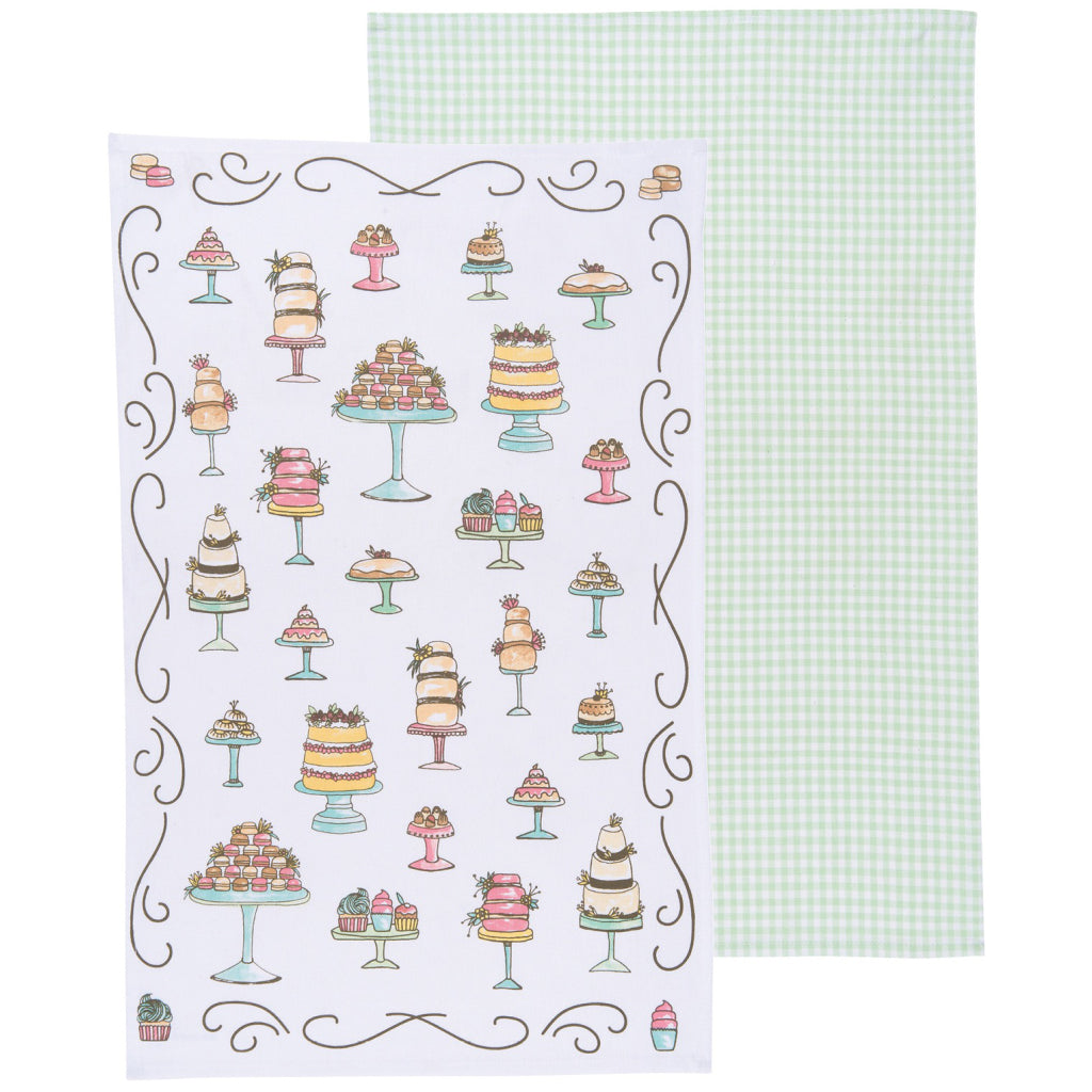 Just Desserts Tea Towels Set of 2 product