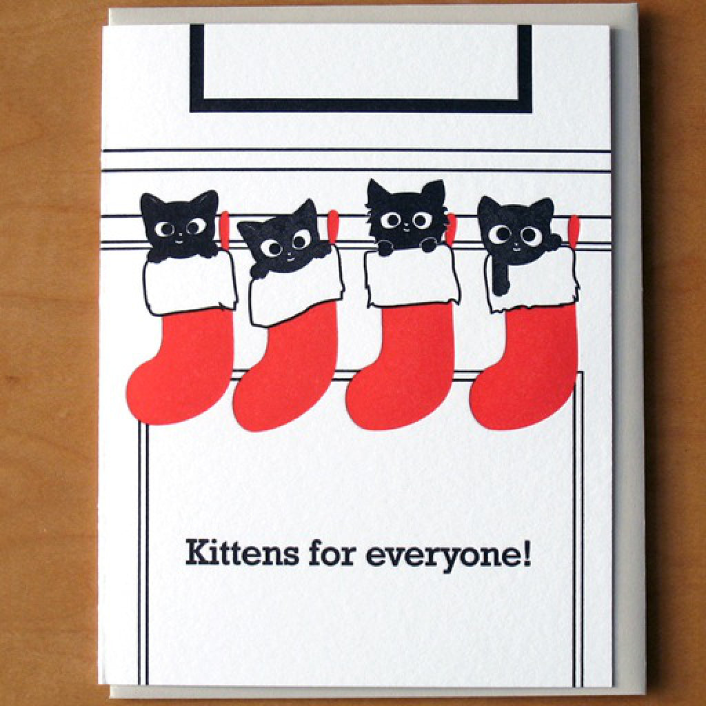 Kittens for Everyone Card
