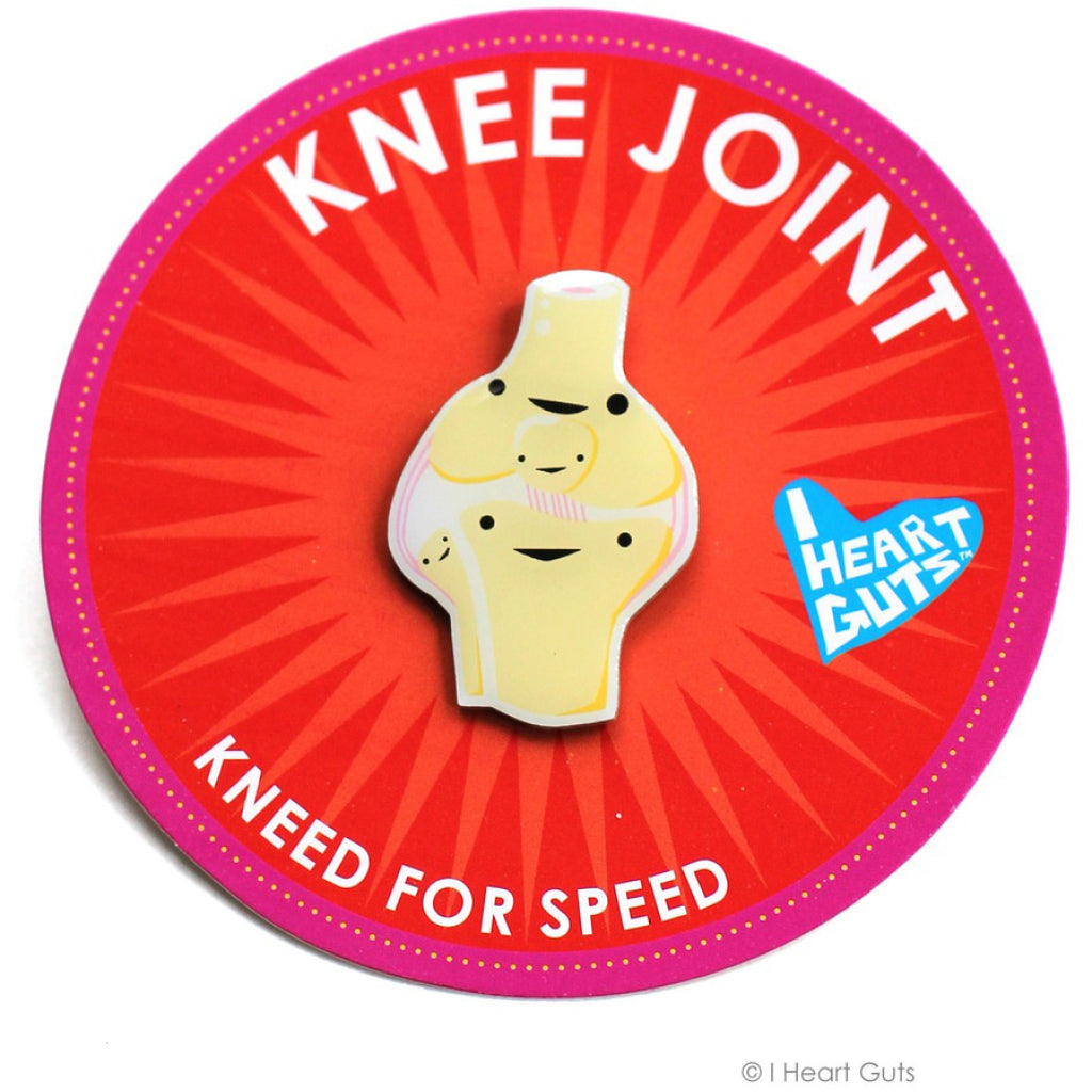 Knee Joint Lapel Pin package