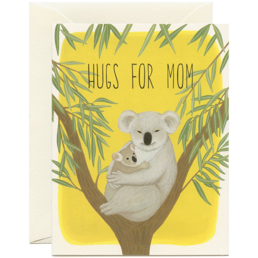 Koala Hugs Mom Card