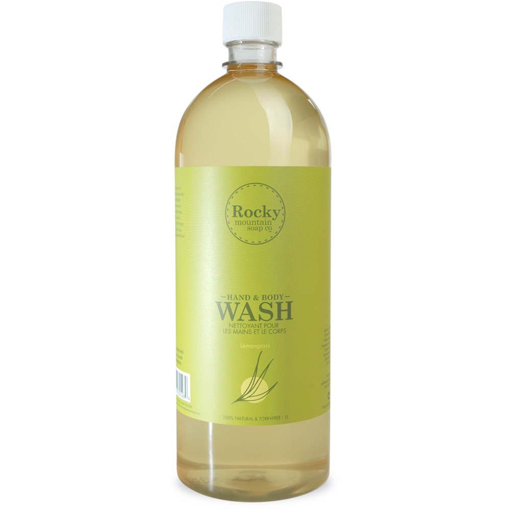 Lemongrass 1L Hand & Body Wash
