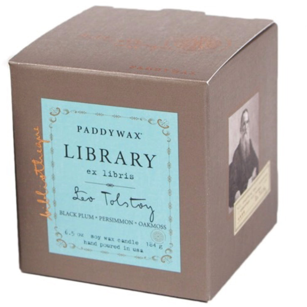 Leo Tolstoy Library Candle box