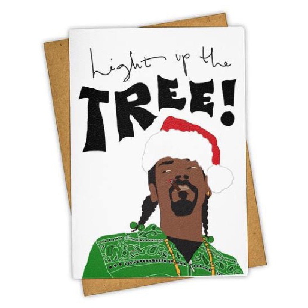Light Up The Tree Snoop Card