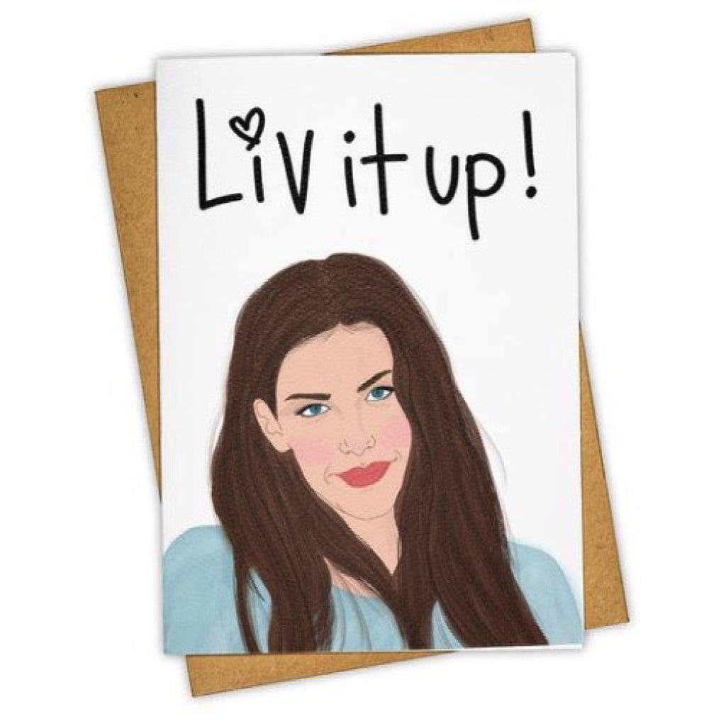 Liv It Up Card