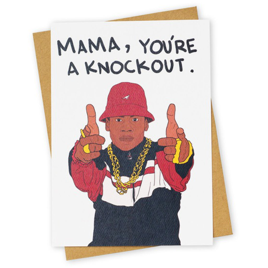 LL Cool J Knockout Card