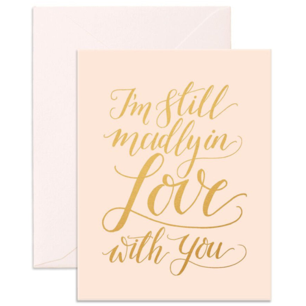 Madly In Love Card