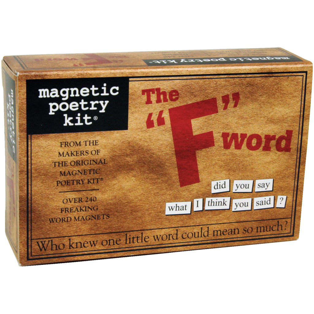 Magnetic Poetry The F Word