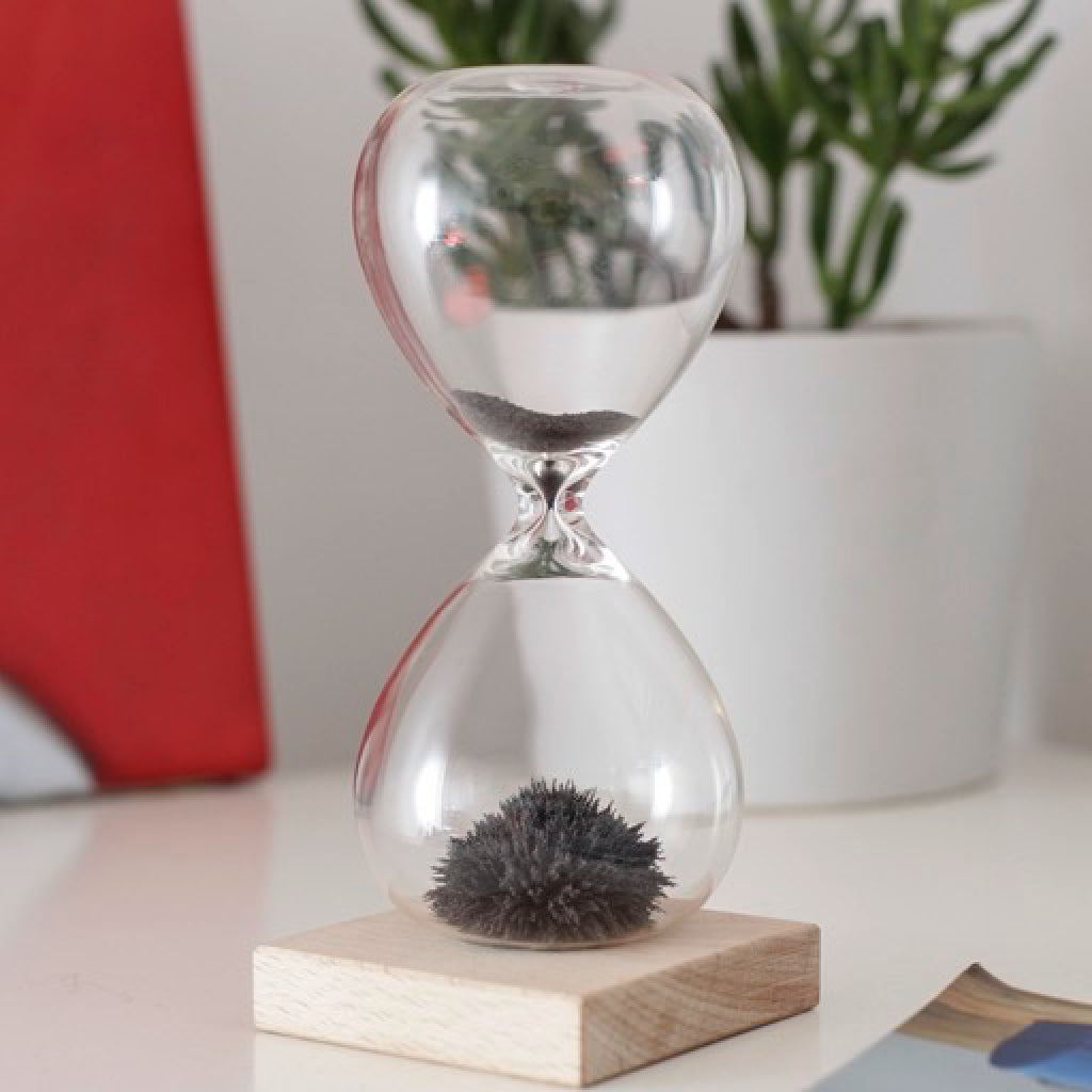 Magnetic Sand Hourglass lifestyle