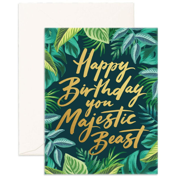 Majestic Beast Card