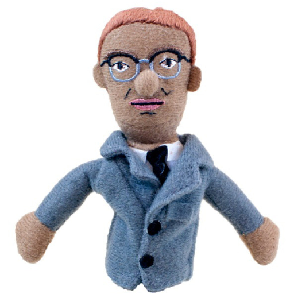 Malcolm X Finger Puppet