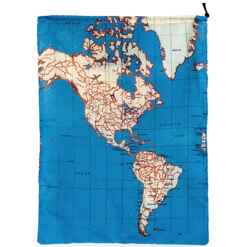 Maps travel bags set of 4 by kikkerland outer layer maps travel bags set of 4 alternate 2 gumiabroncs Choice Image