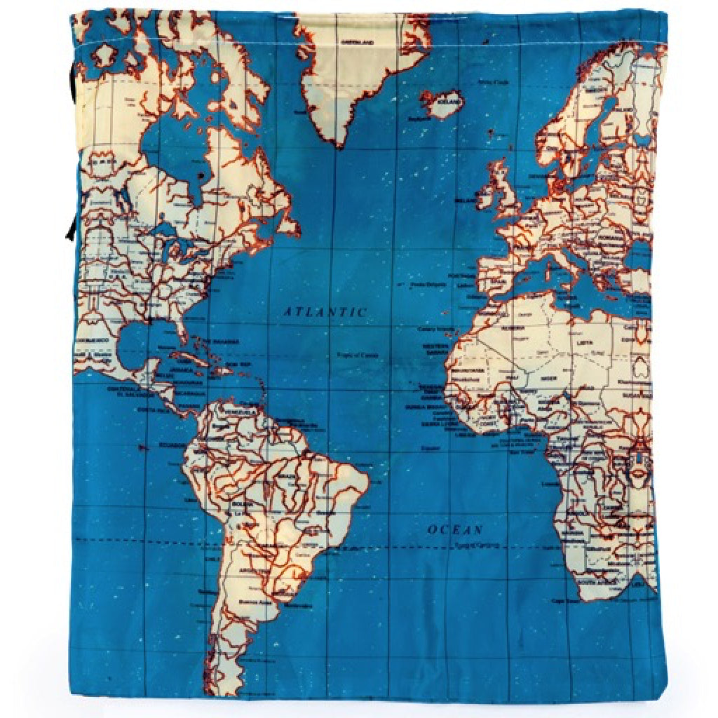 Maps travel bags set of 4 by kikkerland outer layer maps travel bags set of 4 alternate 3 kikkerland travel accessories gumiabroncs Choice Image