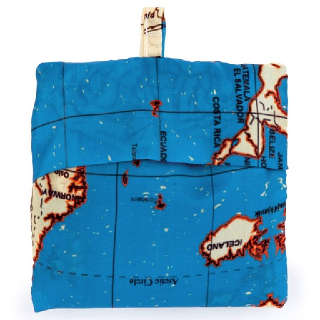 Maps travel bags set of 4 by kikkerland outer layer maps travel bags set of 4 product gumiabroncs Choice Image