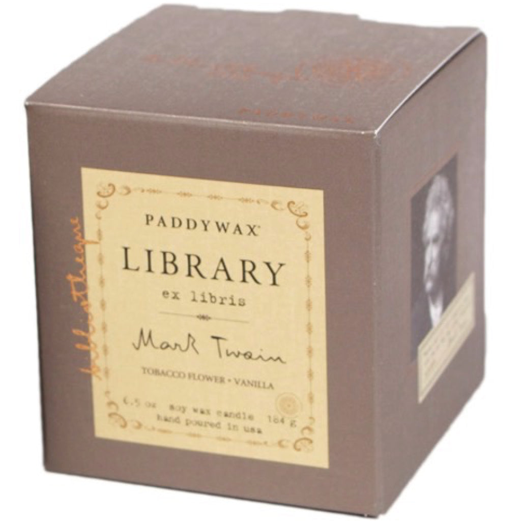 Mark Twain Library Candle box