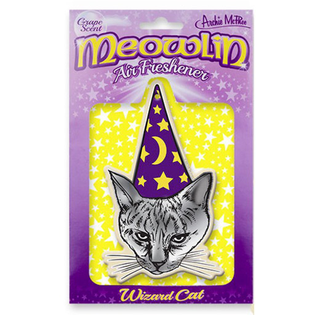 Meowlin Air Freshener package