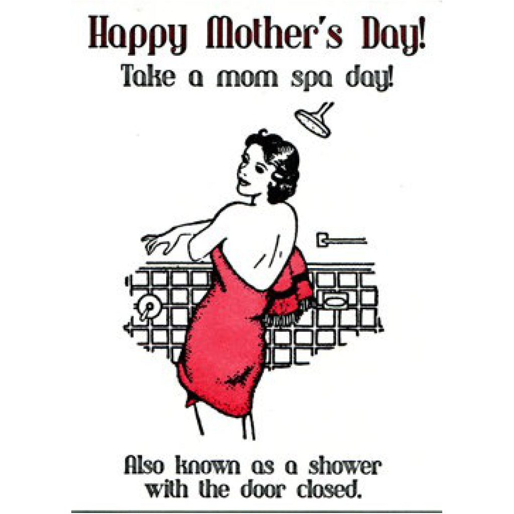 Mom Spa Day Card