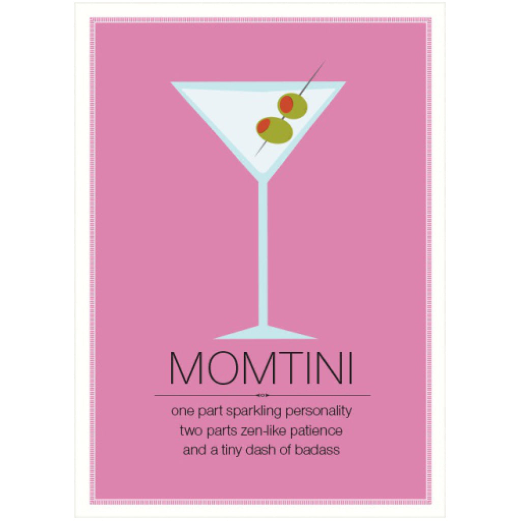 Momtini Mothers Day Card By Seltzer Goods Outer Layer