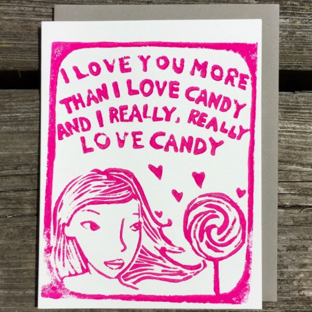 More Than Candy Card