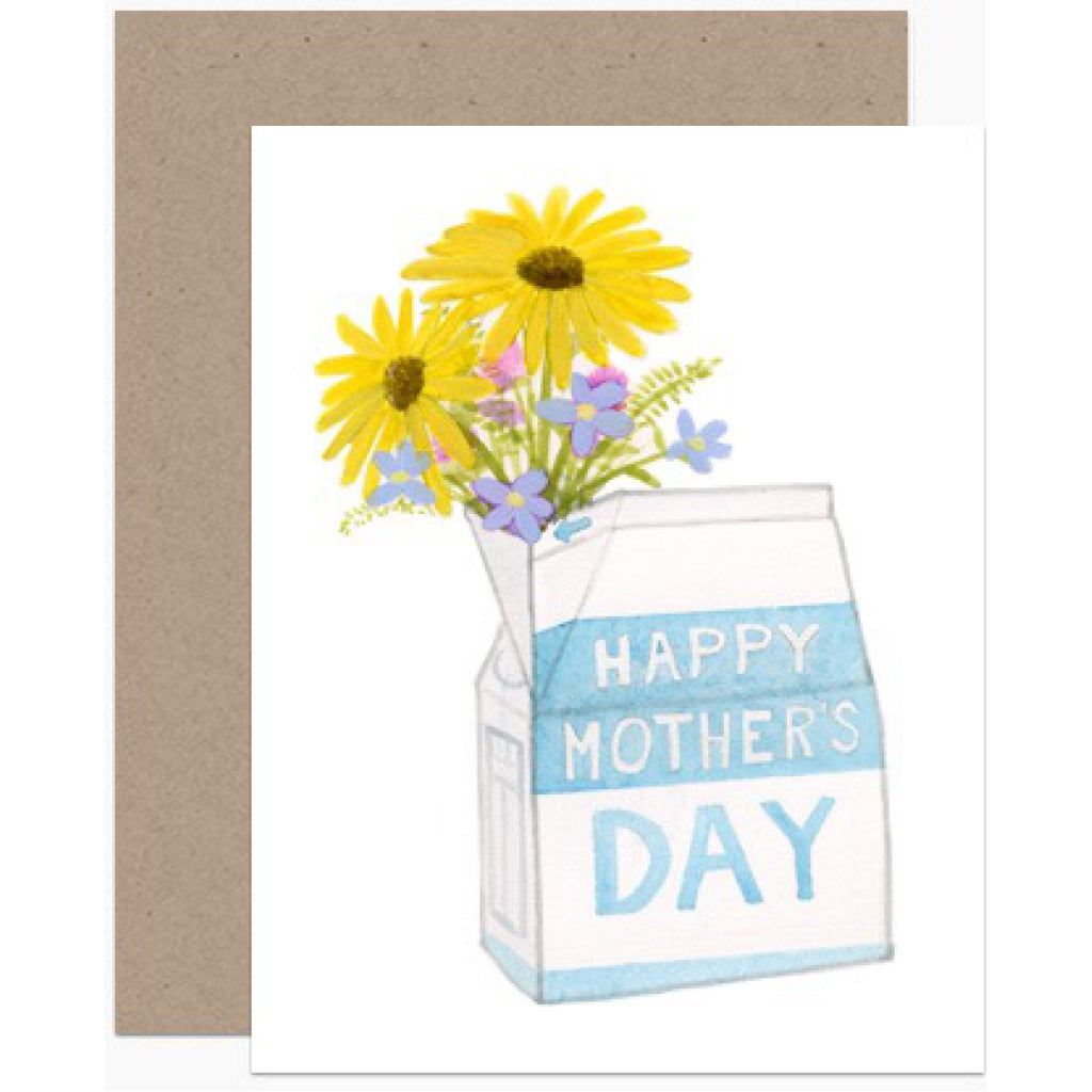 Mother's Day Milk Carton Card