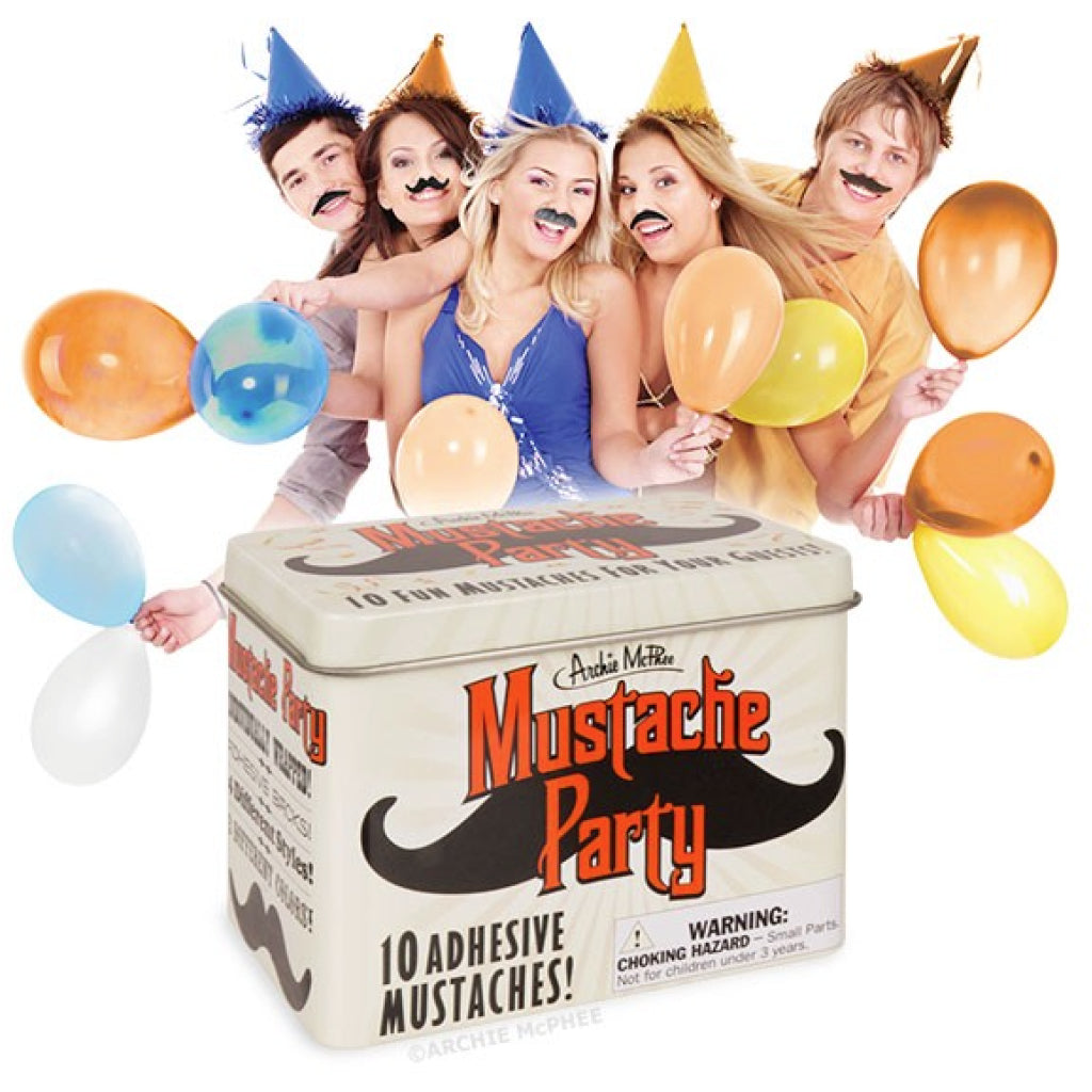 Mustache Party lifestyle